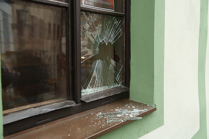 A2B Glass are able to board up broken windows while they are being repaired in Highams Park.